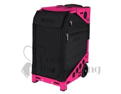 Zuca Pro Artist Oxford Black &  Neon Pink Frame