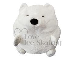 Ice Skating Plush Polar Bear Hand Warmer