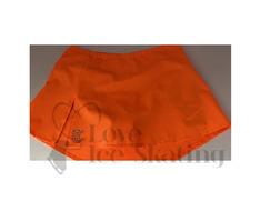 Thuono Neon Orange A-Line Figure Skating Skirt