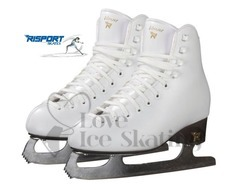 Risport Venus White Ice Skates (Blades Fitted)