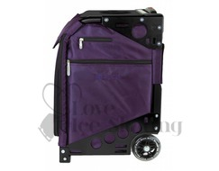 Zuca Pro Artist Royal Purple Insert & Black Frame